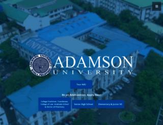 adamson.edu.ph screenshot