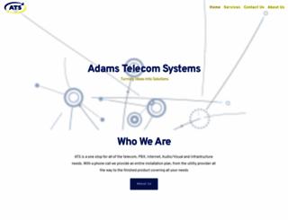 adamstelecom.com screenshot
