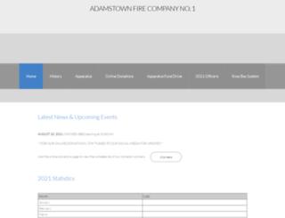 adamstownfire.com screenshot