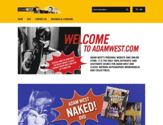 adamwest.com screenshot