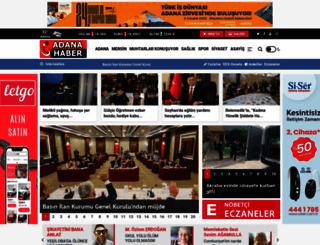 adanahaber.net screenshot