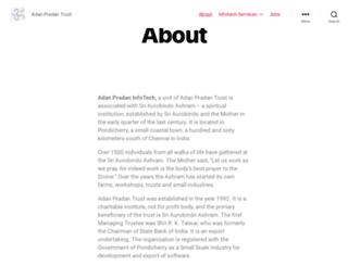 adanpradan.org screenshot