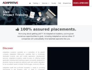 adaptative.academy screenshot