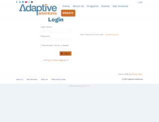 adaptiveadventures.z2systems.com screenshot