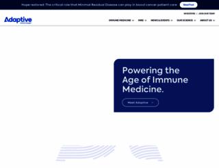 adaptivebiotech.com screenshot