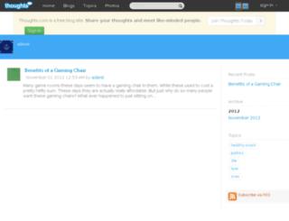 adarst.thoughts.com screenshot