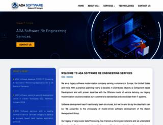 adasoftware.com screenshot