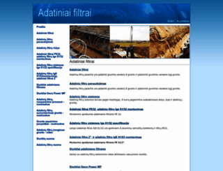 adatiniaifiltrai.lt screenshot