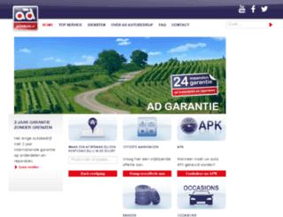 adautobedrijf.nl screenshot