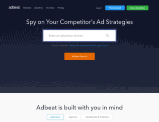 adbeat.com screenshot