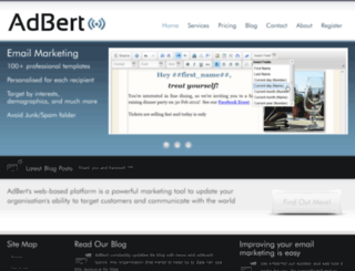 adbert.com screenshot