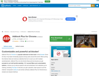 adblock-plus-chrome.en.softonic.com screenshot