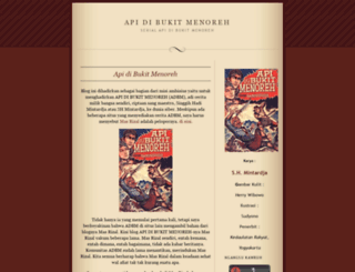 adbmcadangan.wordpress.com screenshot
