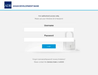 adbportal.asiandevbank.org screenshot