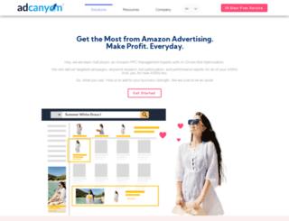adcanyon.com screenshot