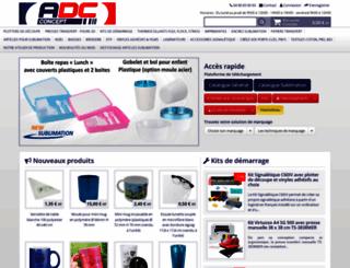 adcconcept.com screenshot