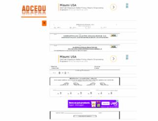 adcedu.com screenshot