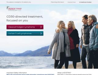 adcetris.com screenshot