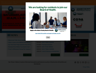 adcogov.org screenshot