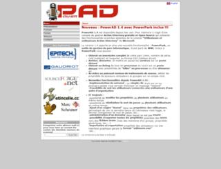 adconsole.sourceforge.net screenshot