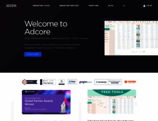 adcore.com screenshot