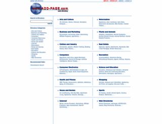 add-page.com screenshot