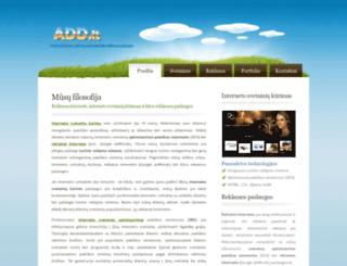 add.lt screenshot