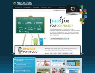 addcolours.com screenshot