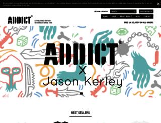 addict.co.uk screenshot