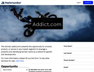 addict.com screenshot