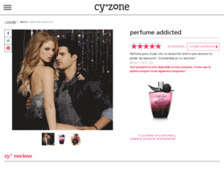 addicted.cyzone.com screenshot
