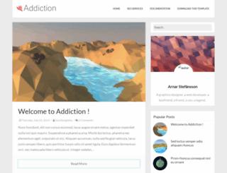 addiction-soratemplates.blogspot.com.br screenshot