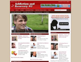addictionandrecovery4u.com screenshot