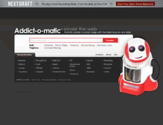 addictomatic.com screenshot