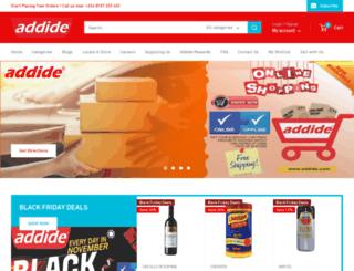 addide.com screenshot