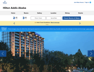 addisababa.hilton.com screenshot