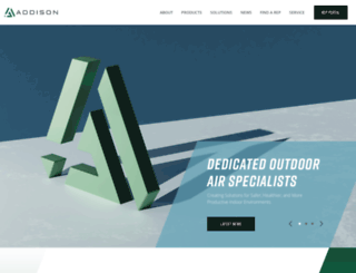 addison-hvac.360psg.com screenshot