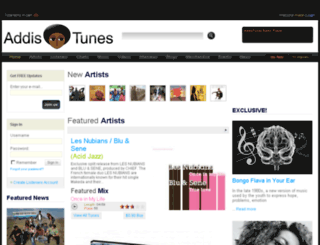 addistunes.com screenshot