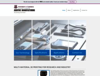 additivemanufacturing.ie screenshot