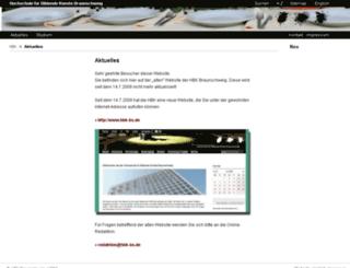 additor.hbk-bs.de screenshot