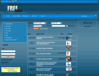 addlistlondon.net screenshot