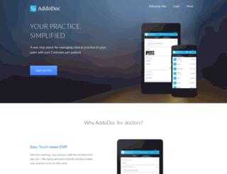 addodoc.com screenshot