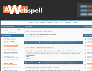 addons-webspell.org screenshot
