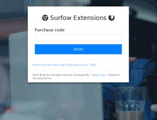 addons.surfow.info screenshot
