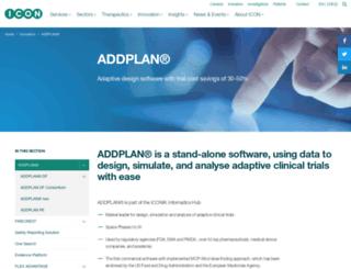 addplan.com screenshot