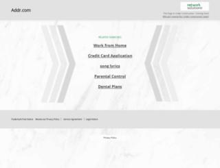 addr.com screenshot