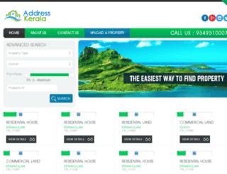 addresskerala.com screenshot