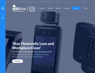 addtimerecording.co.uk screenshot