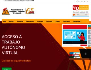 adebogota.org screenshot