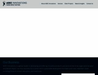 adec-innovations.com screenshot